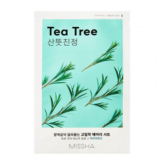 Missha, Тканевая маска для лица Airy Fit Tea Tree, 19 г