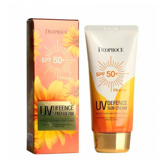 Deoproce, Солнцезащитный крем UV Defence SPF 50+, 70 г