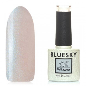 Гель-лак Bluesky Luxury Silver №395