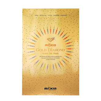 Miskin, Гидрогелевая маска для лица Gold Diamond, 30 мл