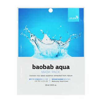 Bergamo, Маска Baobab Aqua, 28 мл