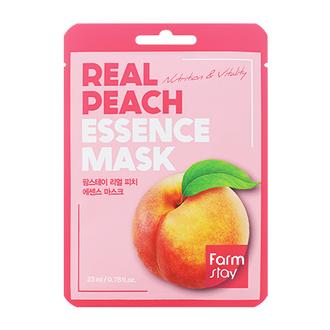 FarmStay, Маска для лица Real Peach, 23 мл