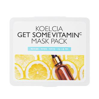 KOELCIA, Тканевая маска Get Some Vitamin C, 30 шт.