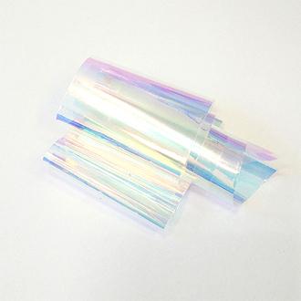 De.Lux, Битое стекло, голография с голубым отливом