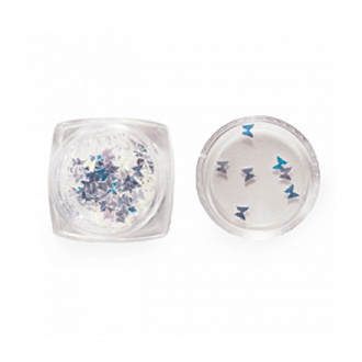 ruNail, Пайетки зеркальные «Бабочки»