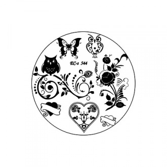El Corazon, диск для стемпинга № EC-s 544