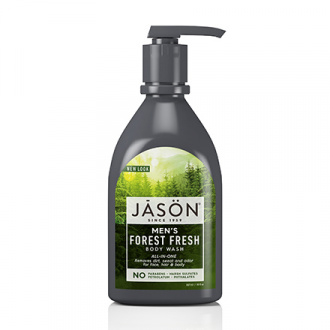 JASON, Гель для душа Men's Forest Fresh All-In-One, 887 мл
