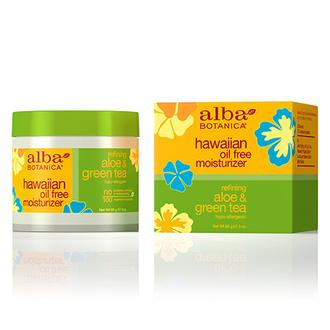 Alba Botanica, Крем для лица Hawaiian Aloe&Green Tea, 85 г