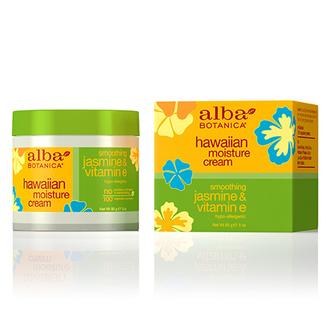 Alba Botanica, Крем для лица Hawaiian Jasmine&Vitamin E, 85 г