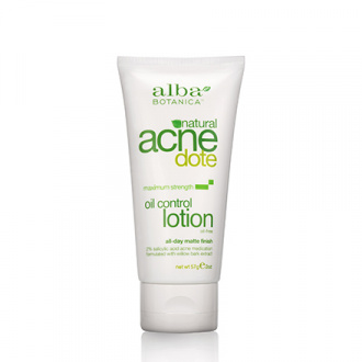 Alba Botanica, Лосьон–крем Acne Dote Oil Control Lotion, 57 г