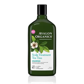 Avalon Organics, Шампунь Scalp Treatment Tea Trea, 325 мл