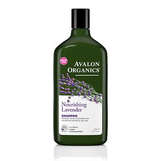 Avalon Organics, Шампунь Nourishing Lavender, 325 мл