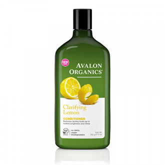 Avalon Organics, Кондиционер Clarifying Lemon, 312 г
