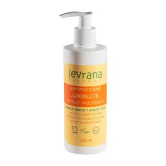 Levrana, Жидкое мыло «Цитрусовая свежесть», 250 мл