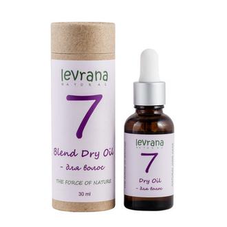 Levrana, Сухое масло для волос «7», 30 мл