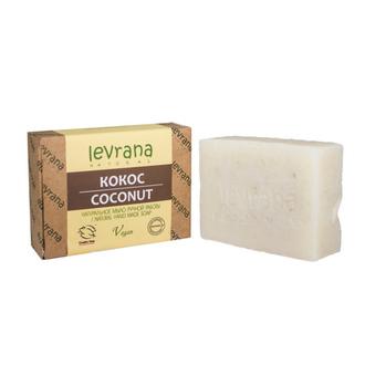 Levrana, Натуральное мыло «Кокос», 100 г