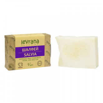 Levrana, Натуральное мыло «Шалфей», 100 г