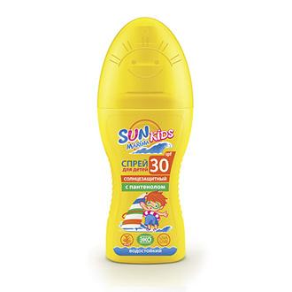 БИОКОН, Детский солнцезащитный спрей Sun Marina Kids, SPF 30, 150 мл