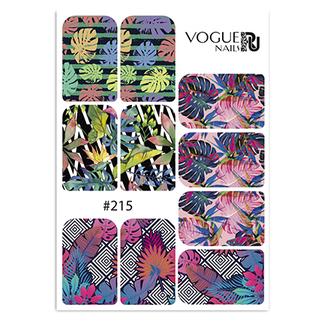 Vogue Nails, Слайдер-дизайн №215