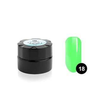 TNL, Гель-краска Voile №18, зеленая неоновая