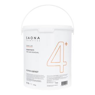 Saona Cosmetics, Сахарная паста для депиляции Normal&Fast, 3500 г