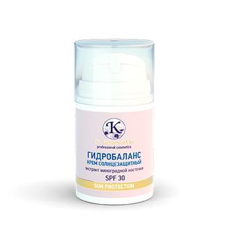 Dr.Koжevatkin, Солнцезащитный крем для лица «Гидробаланс», 50 мл