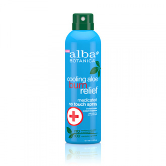 Alba Botanica, Спрей Cooling Aloe Burn Relief, 171 мл