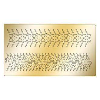 Freedecor, Металлизированные наклейки №218, золото