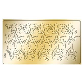 Freedecor, Металлизированные наклейки №221, золото