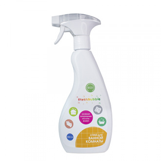 Freshbubble, Универсальный спрей для ванной комнаты, 500 мл
