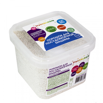 Freshbubble, Порошок для посудомоечной машины, усиленная формула, 1000 г