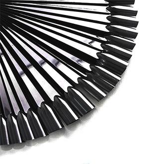 Rosi, Дисплей веерный на кольце, черный, 50 шт.
