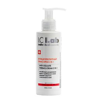I.C.Lab Individual cosmetic, Антицеллюлитный термо-крем 2 в 1, 150 мл