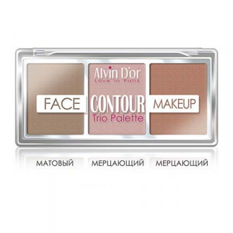 Alvin D'or, Палетка Face Contour Make Up, dark