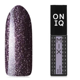 Гель-лак ONIQ Mix №108s, Violet Liquid Foil