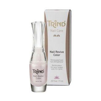 Trind, Укрепитель для ногтей Revive, розовый перламутр, 9 мл