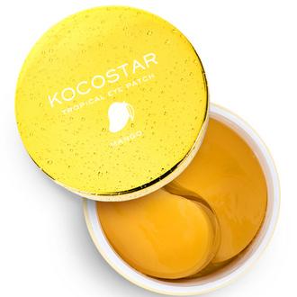 Kocostar, Гидрогелевые патчи для глаз Tropical, манго, 30 пар