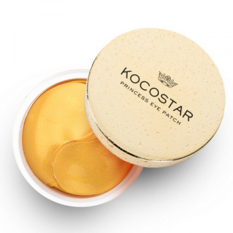 Kocostar, Гидрогелевые патчи для глаз Princess, золото, 30 пар