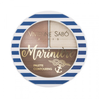 Vivienne Sabo, Палетка для скульптурирования лица Mariniere, тон 02