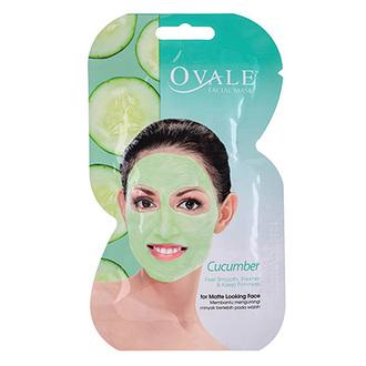 Ovale, Маска для лица Cucumber, 15 г