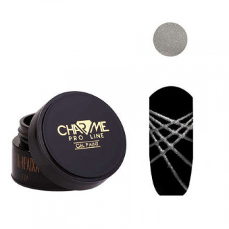 CHARME Pro Line, Гель-краска «Геометрия» №14, серебряная