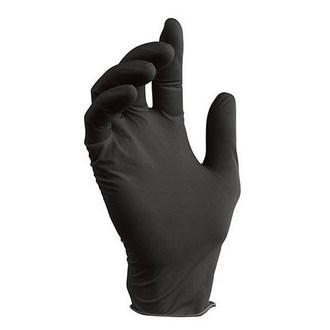 Nitrile, Перчатки нитриловые черные, размер S, 100 шт.