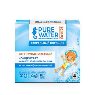 Pure Water, Стиральный порошок для детского белья, 800 г