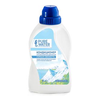 Pure Water, Кондиционер для белья «Горная свежесть», 480 мл