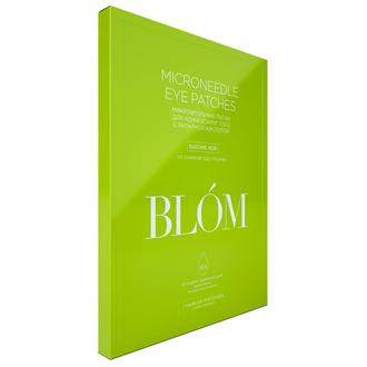 BLOM, Патчи для глаз «Янтарная кислота», 1 пара