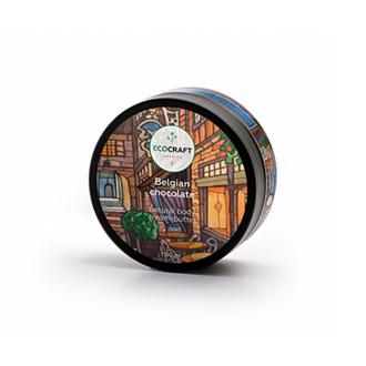 EcoСraft, Крем-масло для тела Belgian chocolate, 150 мл