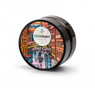 EcoСraft, Маска для лица Red gold of Italy, 60 мл
