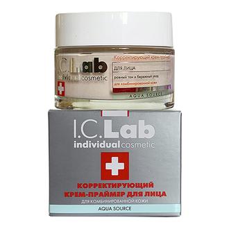 I.C.Lab Individual cosmetic, Корректирующий крем-праймер для лица, 50 мл