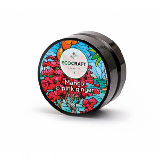 EcoСraft, Скраб для лица Mango & pink ginger, 60 мл