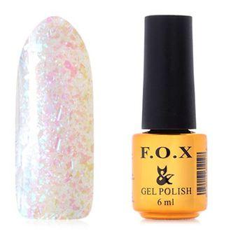 FOX, Гель-лак Yuki Flakes №003